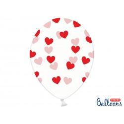 Balony 30cm, Serduszka,...