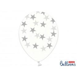 Balony 30cm, Gwiazdki,...
