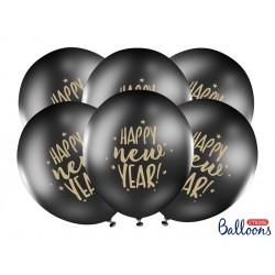 Balony 30cm, Happy New...