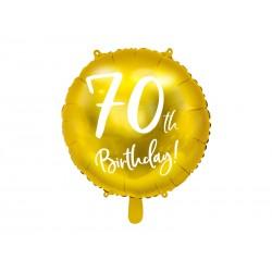 Balon foliowy 70th...